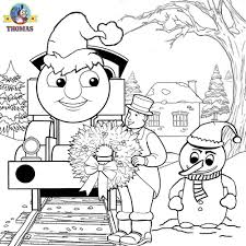 Coloring Pages Picture Christmas Circus Colorings Thomas Sheets