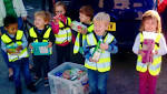 Youngsters visit foodbank to hand over donations