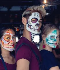 why sugar skull makeup is used to celebrate the day of the dead the magic brush