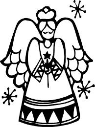 Kerst Engel Kleurplaten Animaatjesnl