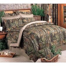 realtree hardwoods camo comforter set queen 12695