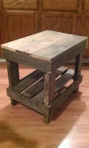 pallet furniture table. Basic Pallet End Table.jpg Pallet Furniture Table I