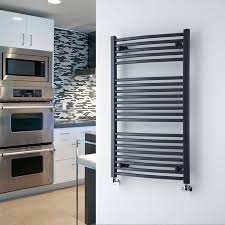Curved Hydronic Towel Warmers