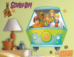 scooby doo gang wall decals