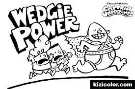 Unique Captain Underpants Coloring Pages Or Captain Underpants Pages