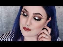 makeup tutorial edgy glam