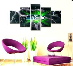 seahawks room decorations room decor bedroom wall art home living room decoration canvas painting poster bedroom