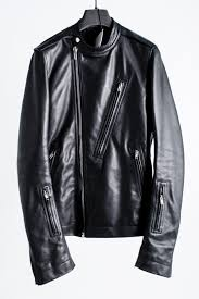 rick owens リックオウエンス 16aw mastoon period cyclops leather biker jacket leather bikie jacket