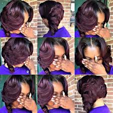 Short Quick Weave Hairstyles 2 Stunning Pin By Nicole Jackson On Hairstyles Pinterest