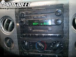 how to ford f150 stereo wiring diagram my pro street 2005 ford f350 stereo wiring diagram at 2004 F150 Fx4 Radio Wiring Diagram