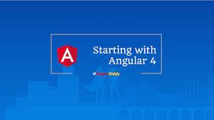 Starting with Angular 4 – Siddhesh Thadeshwar – Medium