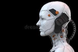 Vue De Côté De Humanoïde De Femme De Cyborg De Robot D'Android - Rendu 3d  Illustration Stock - Illustration du côté, cyborg: 149199271