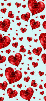 Valentines Cute Red Heart Wallpaper ...
