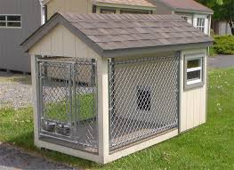 Amish K9 Kastle Dog Kennel