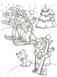 De 84 Beste Afbeelding Van Thema Winter Kleurplaten Voor Kleuters