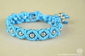 Macrame Bracelet Patterns Mesmerizing Easy Satin Cord Wave Macrame Bracelet Tutorial The Beading Gem's