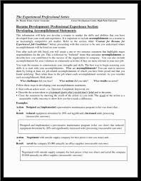 100 Accomplishments Examples Resume Personal Banker Resume