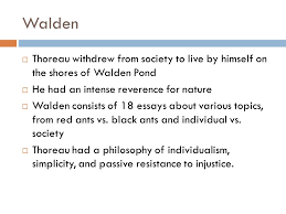 unit the american experience ppt video online  11 walden