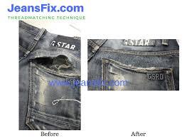 gstar pocket repair before after