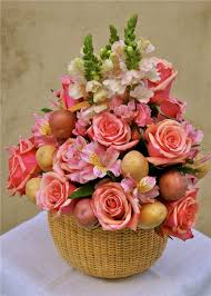 interior fl arrangements for easter easter flower basket flowerduet marvelous arrangements for sunday