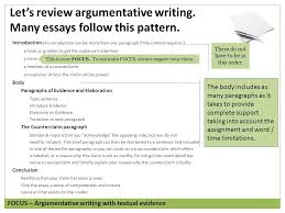 argument writing grade copyright © by write score llc  let s review argumentative writing many essays follow this pattern