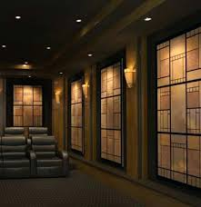 home theater design featuring angled curves decorative acoustic home theater wall panels home theater wall panels