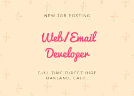 email marketing jobs august 2018