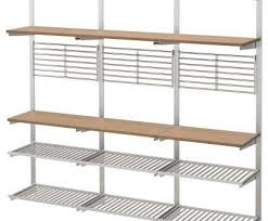 ikea steel wire shelving most ikea kungsfors suspension rail with shelf wll grid gives
