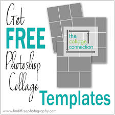 Picture Collage Templates Free Download 17 Free Downloadable Photoshop Templates Images Free