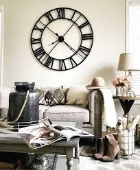 living room wall clocks. Living Room Decor Ideas. Large Wall Clock. White Decor. Clocks C