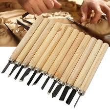 <b>12Pcs Wood Carving</b> Hand <b>Chisel</b> Knife Woodworkers for Woodcut ...
