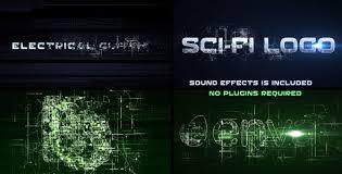 Sci Fi Electrical Glitch by TimMG VideoHive