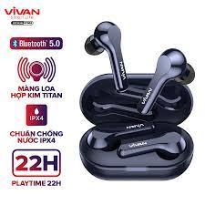 Chỉ 349,000đ - Tai Nghe Không Dây Bluetooth 5.0 VIVAN T200 True Wireless  Chống Nước IPX4 Cảm Ứng Thông Minh Playtime Đến 22H - BẢO HÀNH CHÍNH HÃNG 1  ĐỔI 1