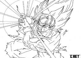 dragon ball z coloring book pages best of cool dragon ball z