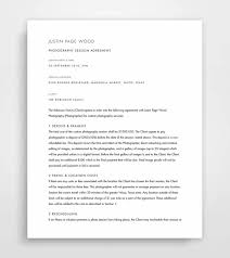 Photography Contract Mesmerizing Photography Contract Contract Template Photographer Etsy