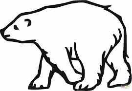 Small Picture Simple Polar Bears Coloring Pages Animal baby animalsfree
