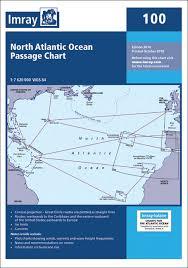 Imray Charts Caribbean 100 North Atlantic Ocean Passage Chart Imray Chart New