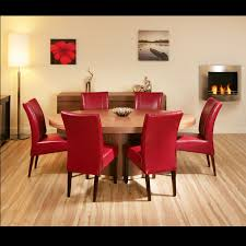 Red dining table set Paint Red Dining Room Chairs Which Furniture Colors Your Leather Pertaining To Design 13 The Tasting Room Red Dining Room Chairs Which Furniture Colors Your Leather