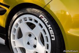 tire stickers on rallyfist