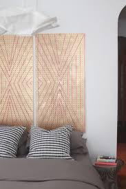 DIY Pegboard used as Headboard in the Bedroom
