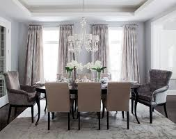 chandelier over table
