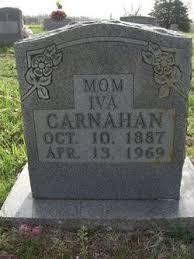 Iva Dunn Carnahan (1887-1969) - Find A Grave Memorial