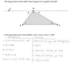 Triangle Proofs Triangle Sum Proof Students Are Asked Prove That The