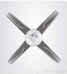 chrome ceiling fan elegant 18w ceiling fans light changeable light remote control 42 inch 220v