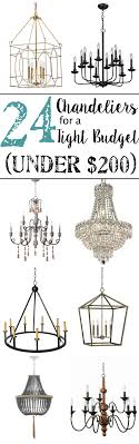 24 chandeliers for a tight budget blesserhouse com a ping guide with 24
