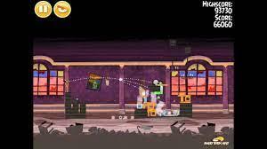 Angry Birds Seasons Haunted Hogs 1-12 Walkthrough 3-Star - YouTube