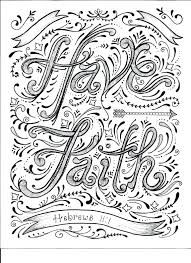 Scripture Coloring Pages Shield Of Faith Coloring Sheet Instant