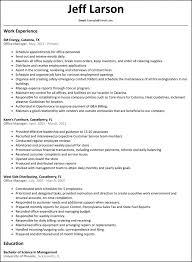 Office Manager Job Description For Resume Resume Medical Office Manager Sample Chief Information Officer 41