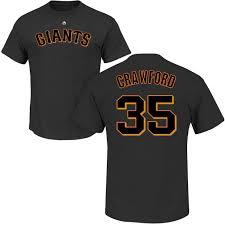 San Jersey Francisco Giants Crawford
