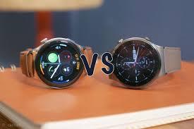 Huawei Watch 3 vs Huawei Watch GT 2 Pro ...